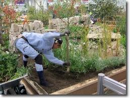 2011技能五輪ロンドン大会「造園」